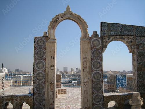 Fotobehang Tunesië la porta verso la città
