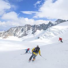 Gletscherabfahrt