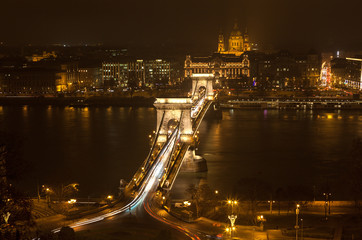 Night Budapest, Hungary.