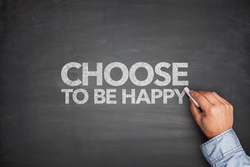Choose to be habby on blackboard