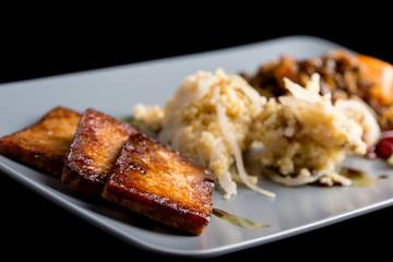 Macrobiotic lunch
