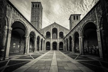 Saint Ambrogio Basilica Milan Italy