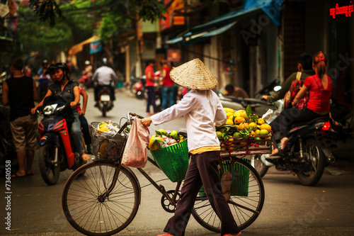 Foto op Canvas Asia land Vietnamese people. Hanoi