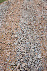 dirt road countryside with gravel surface