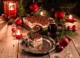 Fototapety Christmas tiramisu