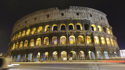Time lapse Colosseum Rome, Italy
