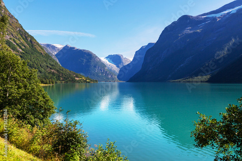 Lake in Norway - 73612384