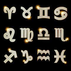 Zodiac Sternzeichen Horoskop Diamanten