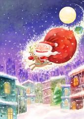 밤하늘의 산타