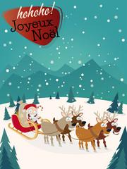 joyeux noël cartoon  frohe weihnachten