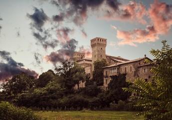 Tramonto al castello di Vignola