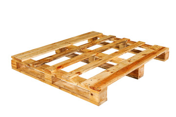 . The wooden pallet