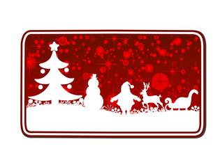 christmas business card