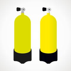 bottle diving