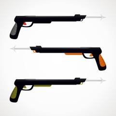 Weapon underwater hunter