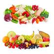 canvas print picture - Obst und Gemüse