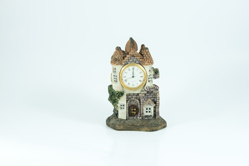 Alarm clock with copy space