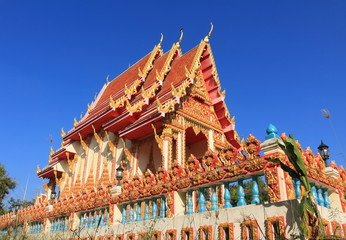 Temple at Wat wihan sri Charoen ,Sikhoraphum ,Surin