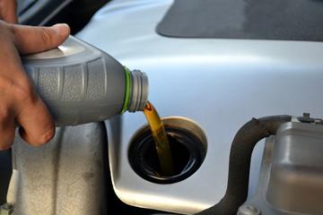 Cambio dell'olio motore