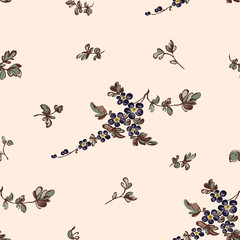 Seamless floral pattern, flower