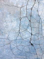 background with old rough antique wall terracotta with cracks an