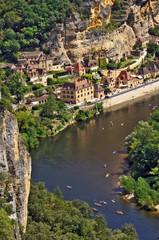 La valle della Dordogna a la Roque Gageac