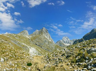 The National Park Durmitor Mountains, Montenegro, UNESCO