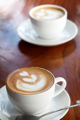 cup of coffee latte