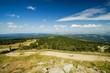 Aussicht vom Brocken im Harz, Weitwinkelaufnahme