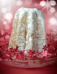 Pandoro, italian Christmas cake