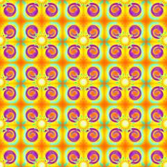 Kitsch Seamless pattern