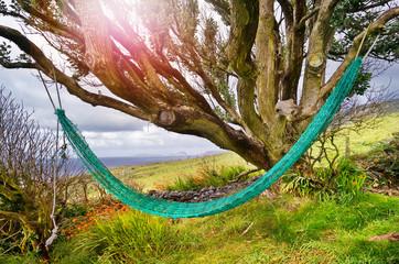 Hängematte Entspannung im Urlaub Irland