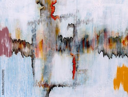 Leinwandbild Motiv an abstract painting