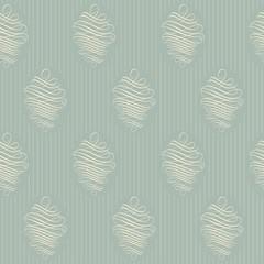 Vintage wallpaper. Delicate veil-like pattern.