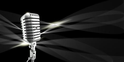 Mikrofon, Auftritt, Superstar, Musik