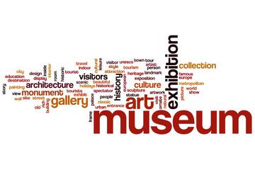 Museum word cloud