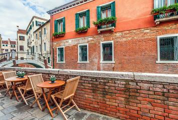 Typical venetian urban view.