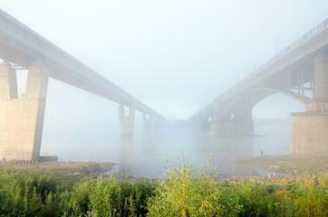 Stone and steel bridge