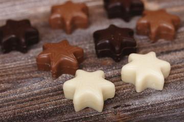 schokoladensterne