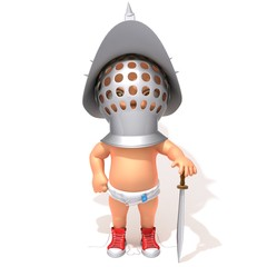 Baby Jake gladiator