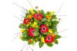 Obrazy na płótnie, fototapety, zdjęcia, fotoobrazy drukowane : Strauß mit Frühlingsblumen