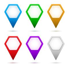 hexagon-map-pointer-arrow-set-color