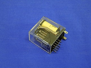 Electro magnetic relays and contacts.