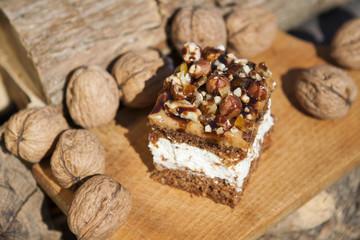 Ciasto orzechowe - Walnut Cake