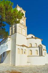 The church apse