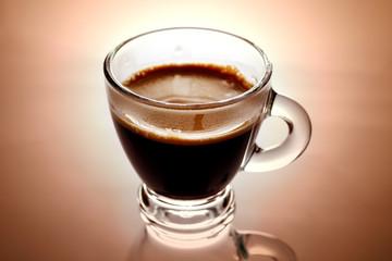 tazzina caffè caldo