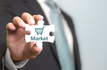 Market - Börse - Aktienkauf