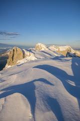 Morgenstimmung in den Alpen
