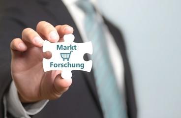 Marktforschung Konzept