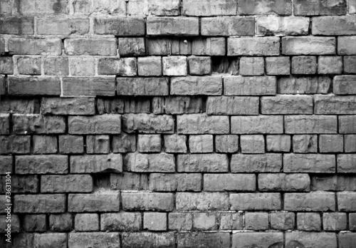 Old brick wall - 73631304